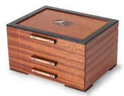 Gingko Leaves Jewelry Box –2 Drawer