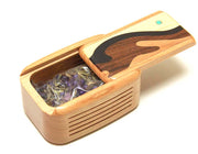 Sachet Box - Wave Inlay, Includes Potpourri