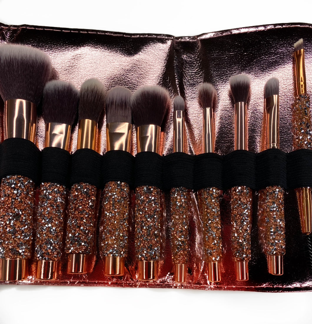 LG GlamMakeup Brush Set