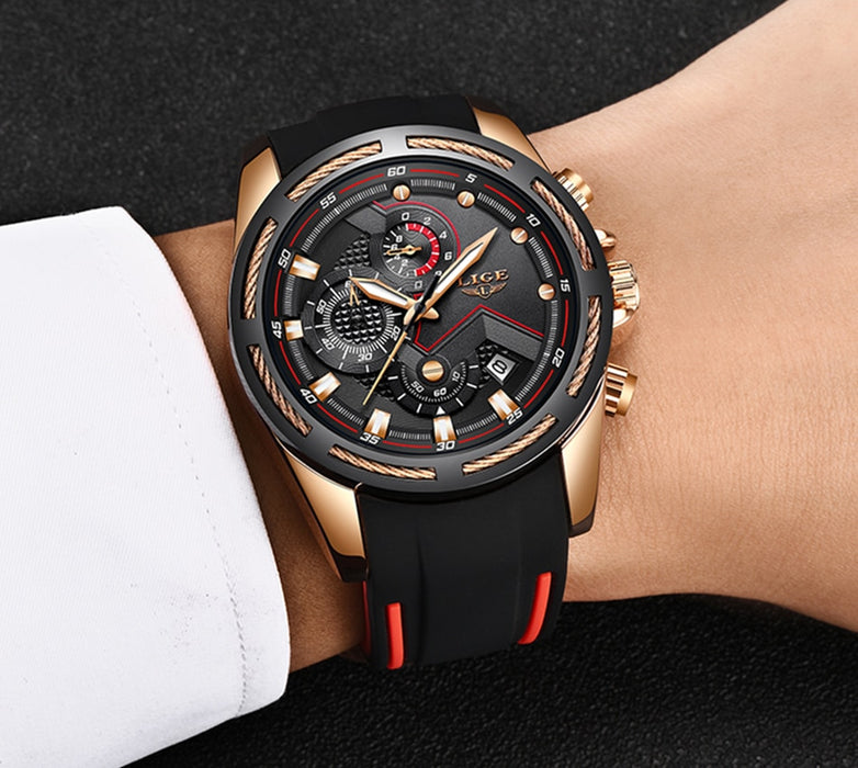 Unique Sports Waterproof Wrist Watch - Kanugi