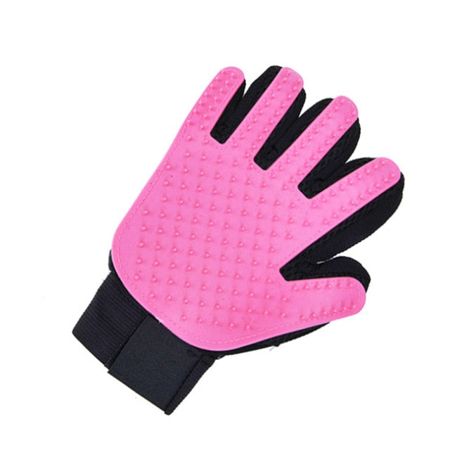 Soft Silicone Cat Grooming Glove - Kanugi