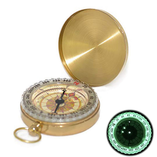 Luminous pocket watch compass - Kanugi