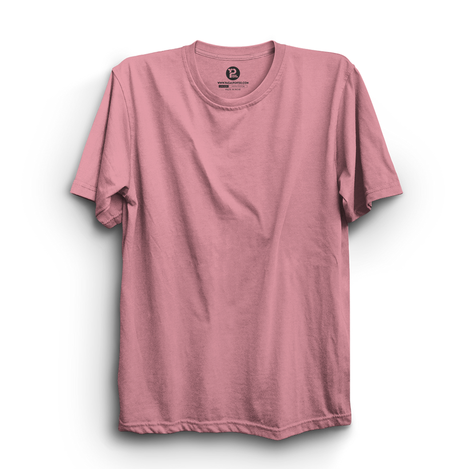 LIGHT PINK HALF SLEEVE T-SHIRT