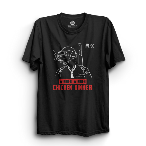 HS- CHICKEN DINNER (BLACK)