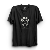 HS- PAWS FOR PEACE (BLACK)