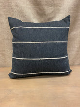 Load image into Gallery viewer, Black Stripe Pillow
