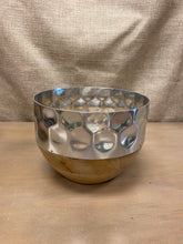 Load image into Gallery viewer, Wood and Metal Bowl (Lg)