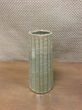 Load image into Gallery viewer, Vertical Ribbed Vase (Lg)