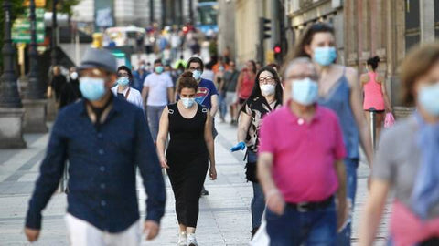 The misuse and quality of masks a key factor in the outbreak of the coronavirus