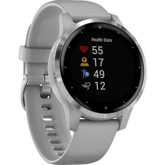 GARMIN VIVOACTIVE 4S POWDER GREY & SILVER |