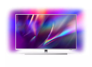 "Philips Series 8500 50"" 4K UHD LED Smart Android TV - Silver 