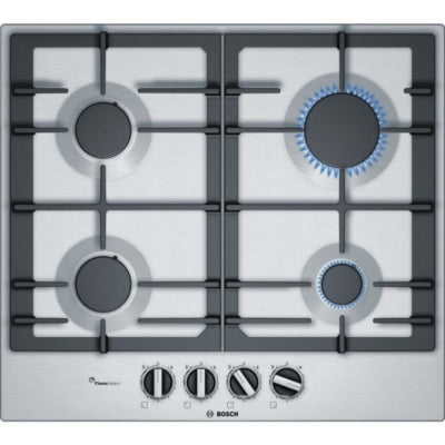 Bosch PCP6A590 / Bosch Stainless Steel 4 Ring Gas Hob