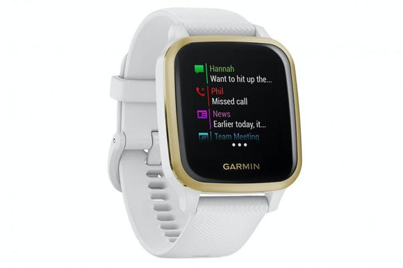 Garmin Venu SQ White/Light Gold