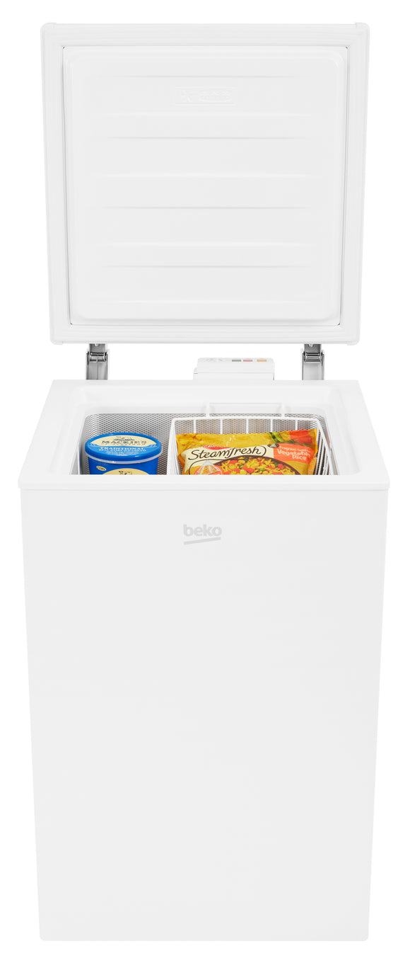 Beko Freestanding Small Chest Freezer with Freezer Guard | CF374