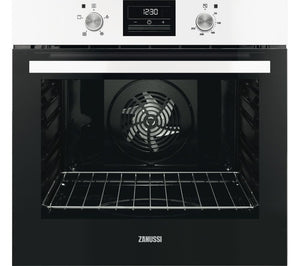 Zanussi ZOB35471WA / Zanussi White Single Oven