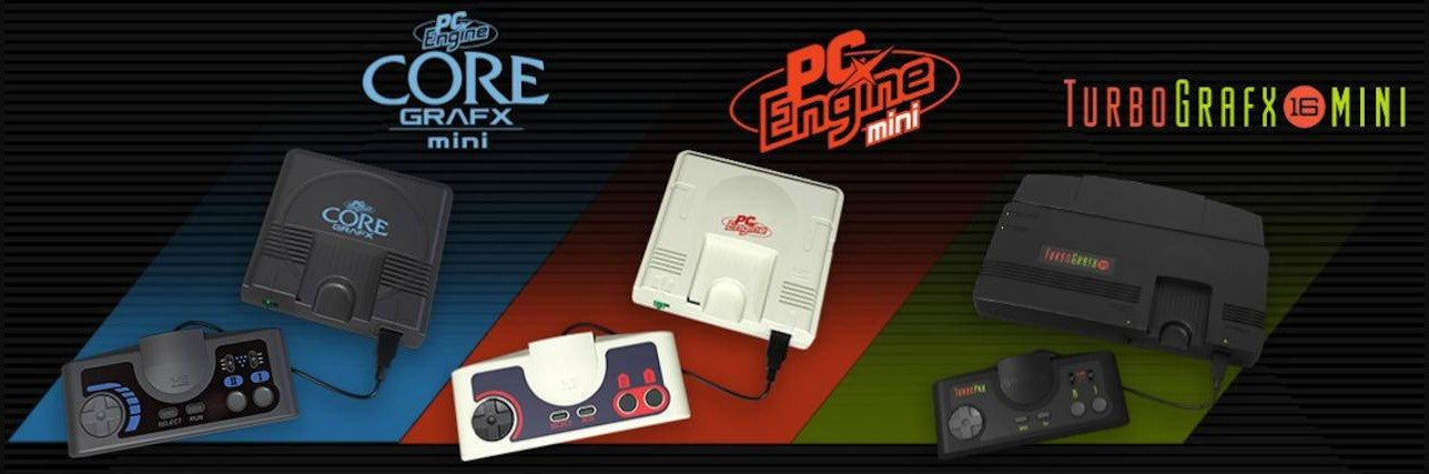 NEC TurboGrafx-16/PC Engine Collection | RetroGaming1UP