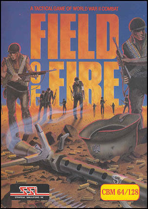 Field of Fire - Commodore 64 | Retro1UP Game