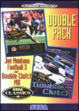 Double Pack: Joe Montana Football 3 / Double Clutch MD - Genesis | Retro1UP Game