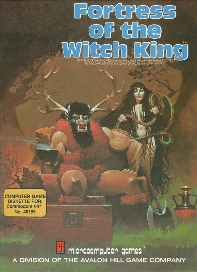 Fortress of the Witch King - Commodore 64 | Retro1UP Game