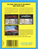 Test Drive - Commodore 64 | Retro1UP Game