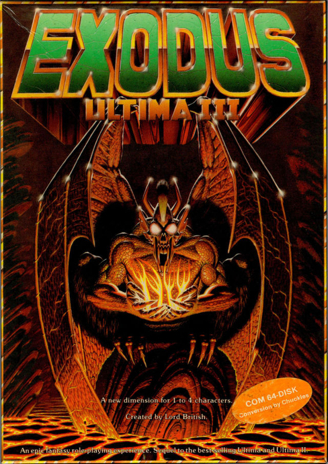 Ultima III: Exodus - Commodore 64 | Retro1UP Game