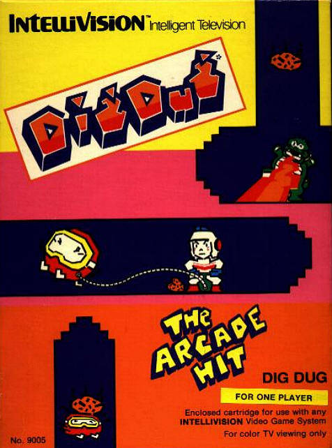 Dig Dug - Intellivision | Retro1UP Game