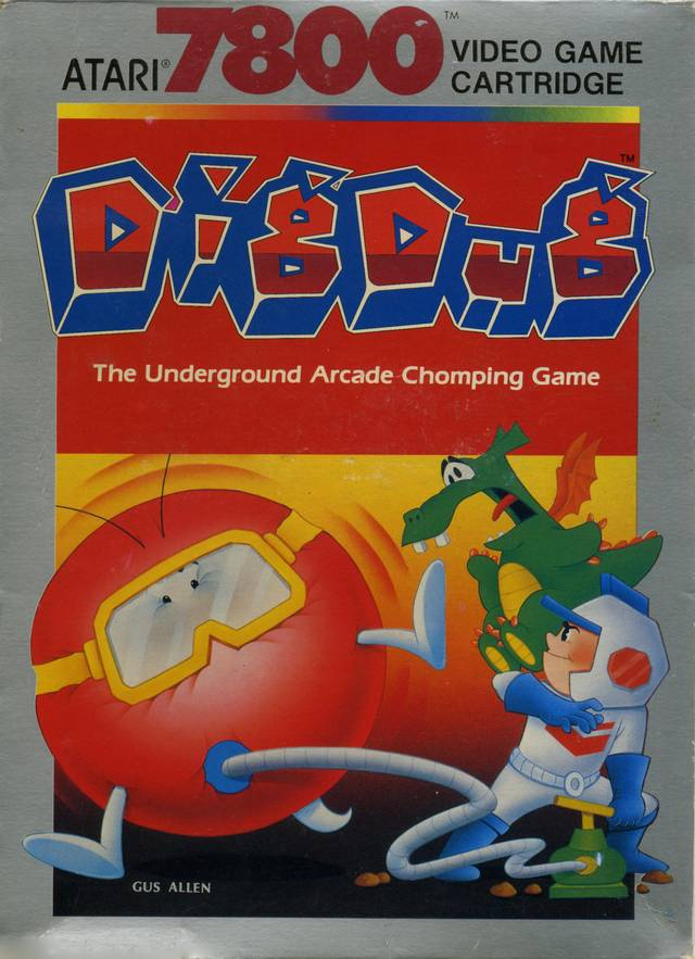 Dig Dug - Atari 7800 | Retro1UP Game