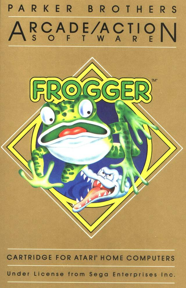 Frogger - Atari 8-bit | Retro1UP Game
