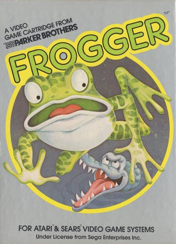 Frogger - Atari 2600 | Retro1UP Game