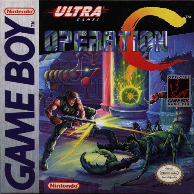 Operation C - Game Boy | Retro1UP Game