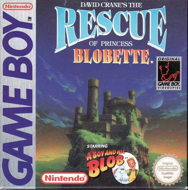 David Crane's The Rescue of Princess Blobette - Game Boy | Retro1UP Game