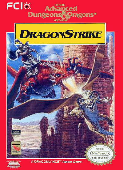 Advanced Dungeons & Dragons: DragonStrike - NES | Retro1UP Game