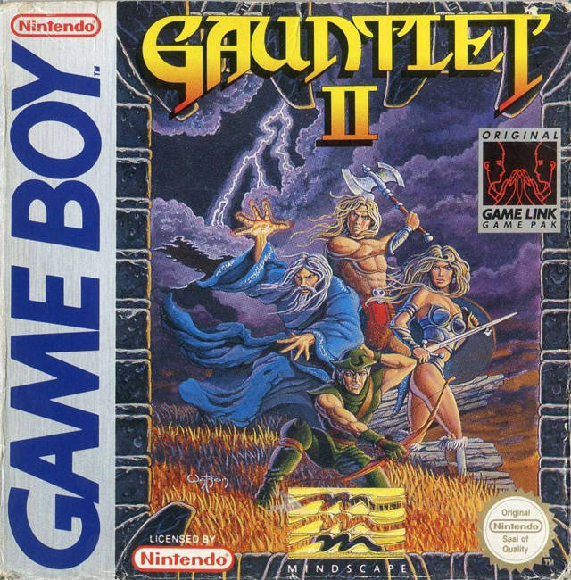 Gauntlet II - Game Boy | Retro1UP Game