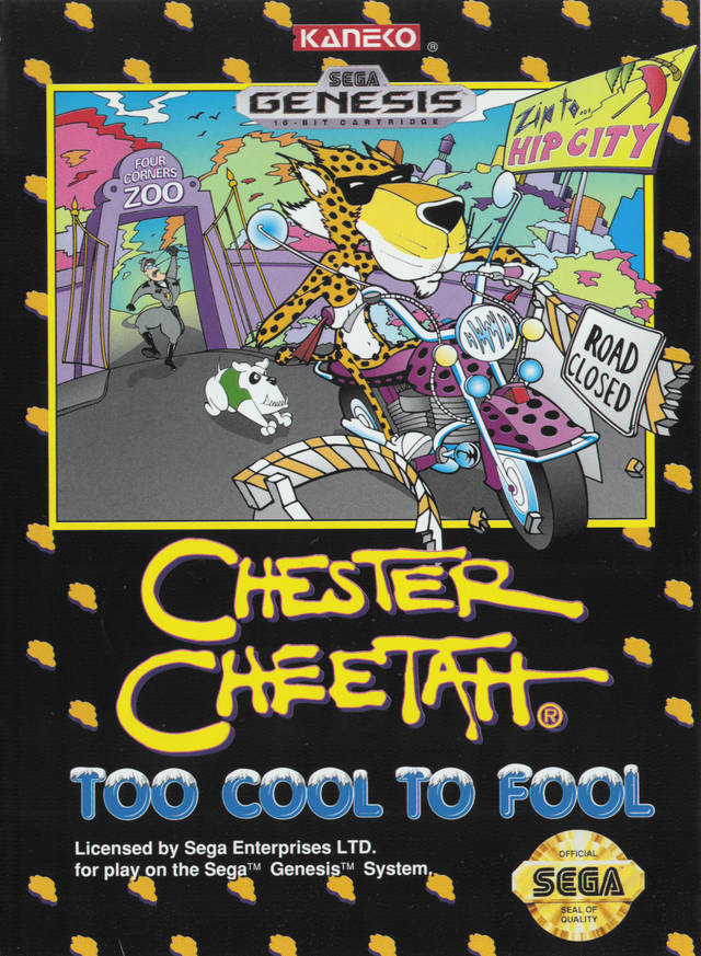 Chester Cheetah: Too Cool to Fool - Genesis | Retro1UP Game
