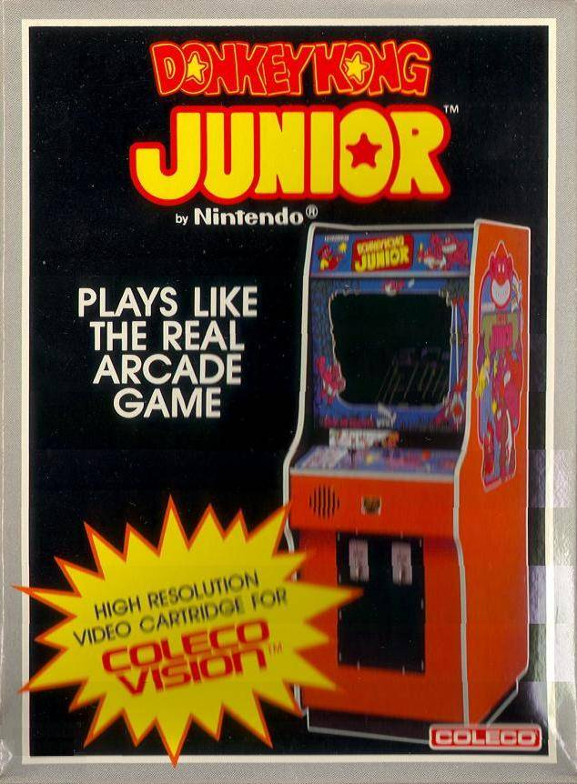 Donkey Kong Junior - Colecovision | Retro1UP Game