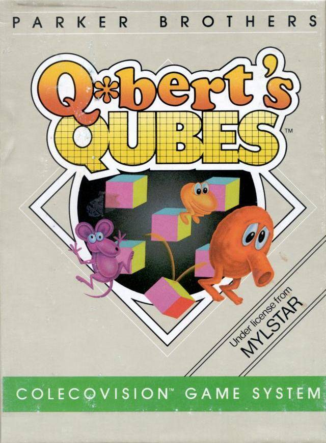 Q*bert's Qubes - Colecovision | Retro1UP Game