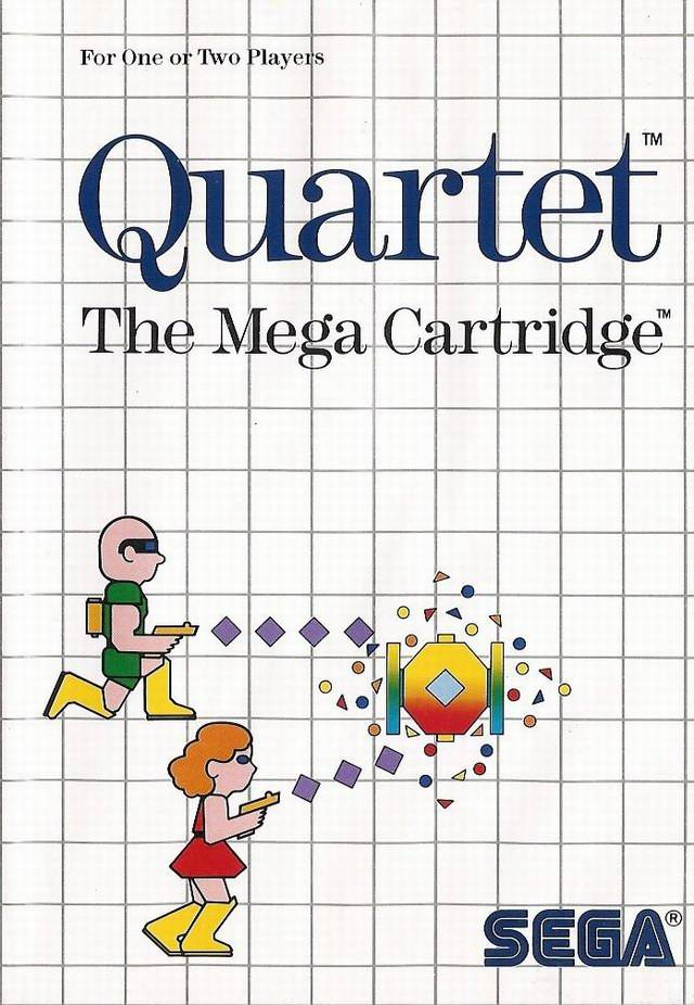 Quartet - Sega Master System | Retro1UP Game