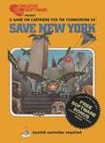 Save New York - Commodore 64 | Retro1UP Game