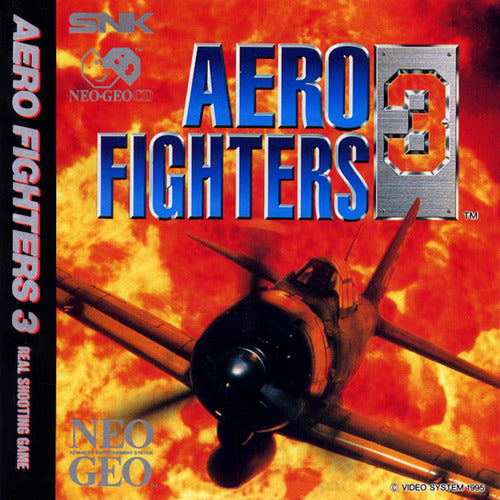 Aero Fighters 3 - Neo-Geo CD | Retro1UP Game