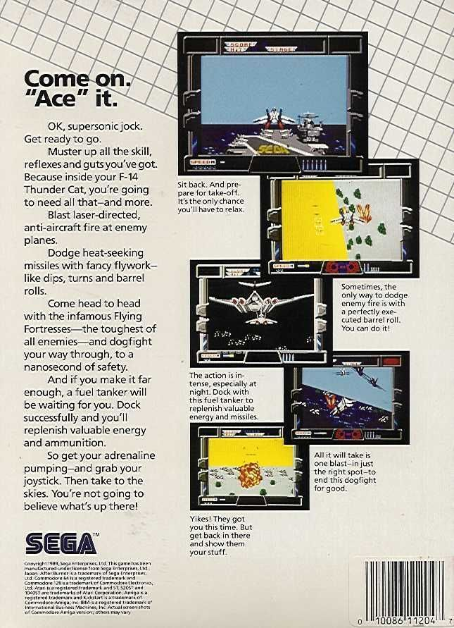 After Burner - Commodore 64 | Retro1UP Game