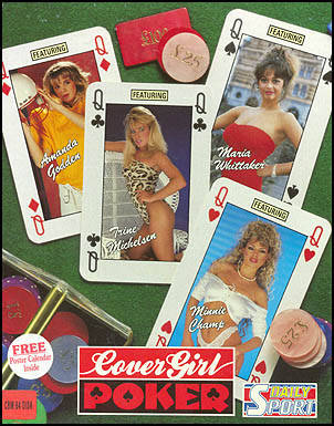 Cover Girl Poker - Commodore 64 | Retro1UP Game