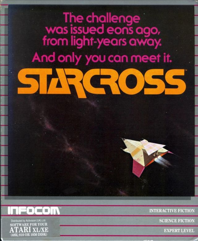 Starcross - Atari 8-bit | Retro1UP Game