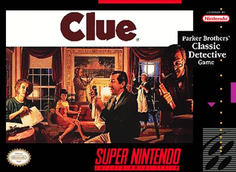 Clue - Super Nintendo | Retro1UP Game