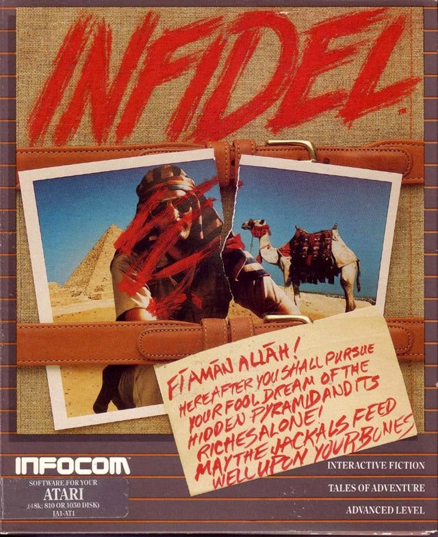 Infidel - Atari 8-bit | Retro1UP Game