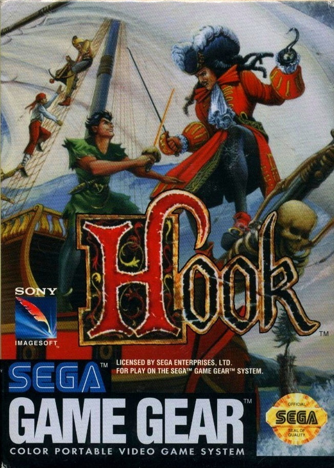 Hook - GameGear | Retro1UP Game