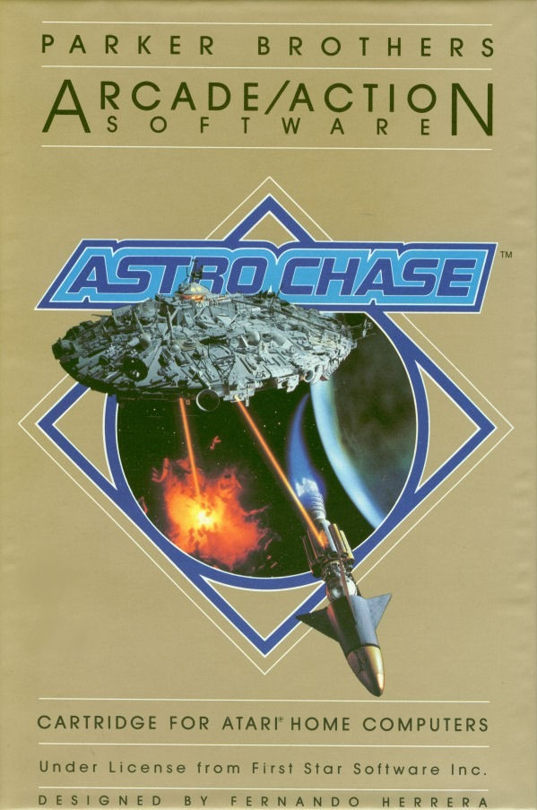 Astro Chase - Atari 8-bit | Retro1UP Game