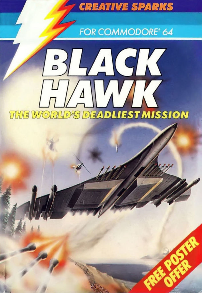 Black Hawk - Commodore 64 | Retro1UP Game