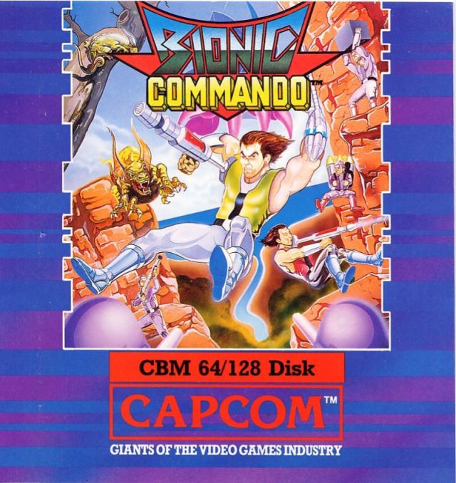 Bionic Commando - Commodore 64 | Retro1UP Game