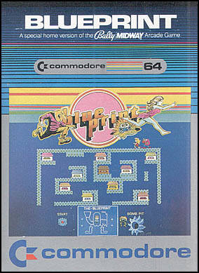 Blue Print - Commodore 64 | Retro1UP Game