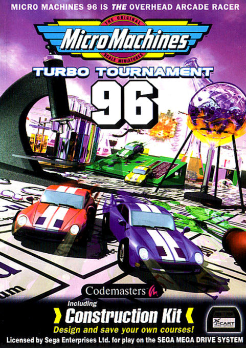 Micro Machines: Turbo Tournament 96 - Genesis | Retro1UP Game